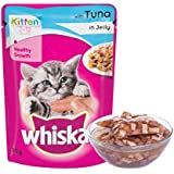 Whiskas Wet Meal Kitten Cat Food, Tuna In Jelly, 85 G