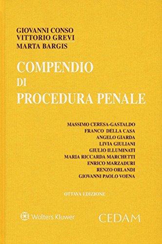 Compendio di procedura penale Compendio di procedura penale 51c7wDQh91L