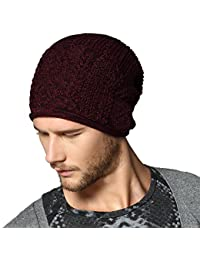 b1bba3f603200e Kenmont Winter Unisex Men Knit Outdoor Cotton Beanie Hat Slouch Cap