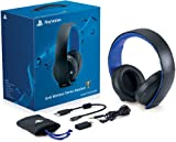 #6: PlayStation Gold Wireless Stereo Headset - Jet Black