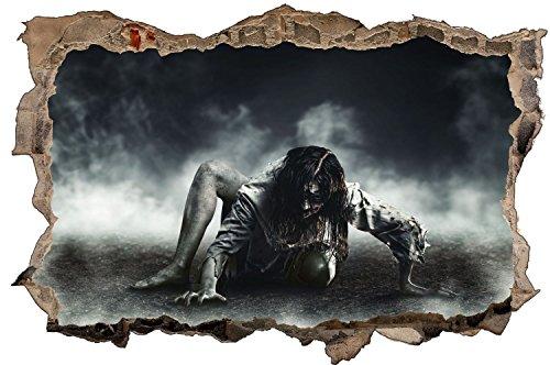 Horror Wandtattoo Wandsticker Wandaufkleber D1164 Größe 40 cm x 60 cm (Zombie Deko Ideen)