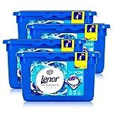 Lenor 3in1 Pods Weiße Wasserlilie Vollwaschmittel 369,6g - 14 WL (4er Pack)