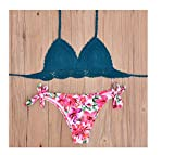 Bikini New Vintage Swimwear Women Sexy Crochet Bikini Swimsuit Handmade Knitted Bathing Suit Swimsuit Maillot de bain