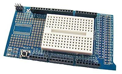 REES52 Prototype Shield V3 Expansion Board w Miniature Breadboard for Arduino Mega