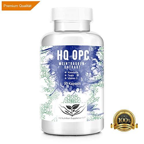OPC - TRAUBENEXTRAKT Kapseln   100% Qualität   Laborgeprüftes Premium OPC, 90 Kapseln   Hochdosiertes Qualitätsprodukt hergestellt in Deutschland
