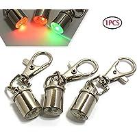 Xiton 1pc Hundehalsband LED-Lampe Predictive Wetterfest Clip-on-Hund Katze Hundehalsband-Anhänger Sicherheit LED-Scheinwerfer Nachtkampierendes