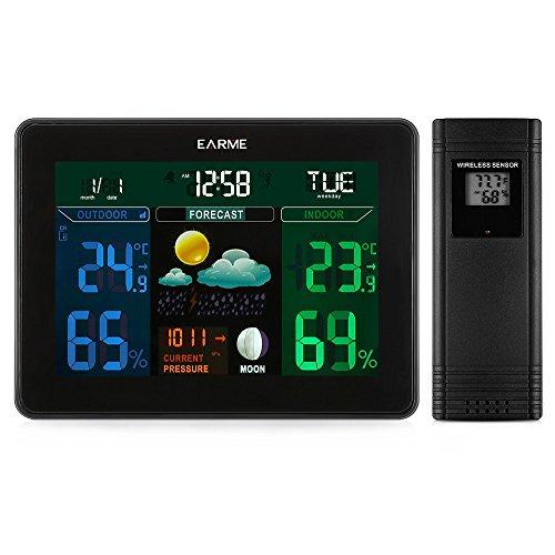 Estación meteorológica con Sensor Externo