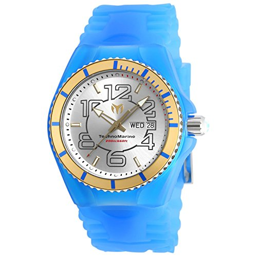 TECHNOMARINE MEN'S CRUISE JELLYFISH 44MM SILICONE BAND QUARTZ WATCH TM-115143