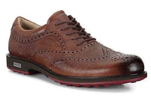 ECCO Chaussures de Golf Pour Homme - Marron - Lion, 40 EU