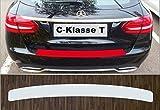 passgenau für Mercedes C-Klasse T-Modell, ab 2014; Lackschutzfolie Ladekantenschutz transparent