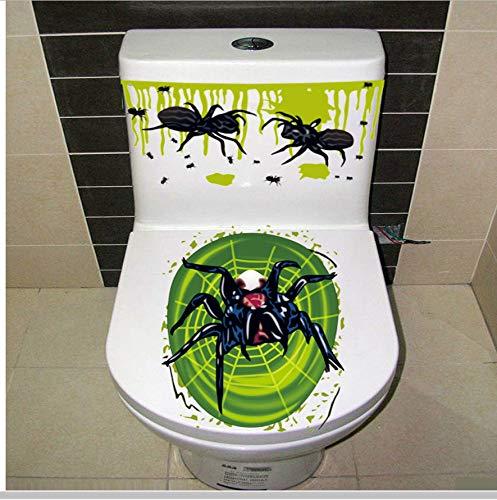 HHZDH Dekoration Aufkleber blutige Hand toilettenabdeckung Party Dekoration Aufkleber Zombie DIY wc Aufkleber wohnkultur 60 cm x 31 cm