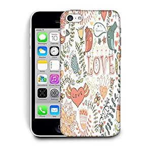 Snoogg Love Colorful Birds Printed Protective Phone Back Case Cover For Apple Iphone 6+ / 6 Plus