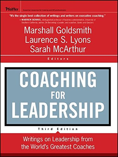 Coaching for Leadership (J-B US non-Franchise Leadership)