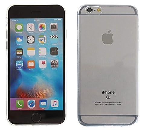 3Q iPhone 6 Hülle iPhone 6S Hülle Silikon Transparent Ultra-Slim Case Cover Handy-hülle Tasche Durchsichtig. Schutz-Hülle Etui 3Q-PC-IF08 Schweizer Premium Design und Verpackung