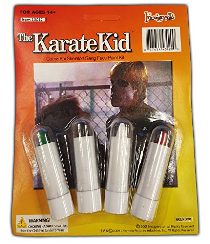 Karate Kid Cobra Kai Skeleton Make Up Kit