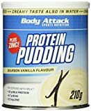 Body Attack Protein Pudding, Vanilla, 210g Dose
