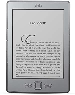 "Kindle, 6"" E Ink Display, Wi-Fi, Graphite"