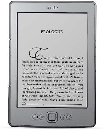 """Kindle, 6"""" (15 cm), affichage encre électronique E Ink, Wi-Fi, gris"""
