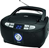 AEG SR 4379 Stereoradio mit CD, LED Display Schwarz