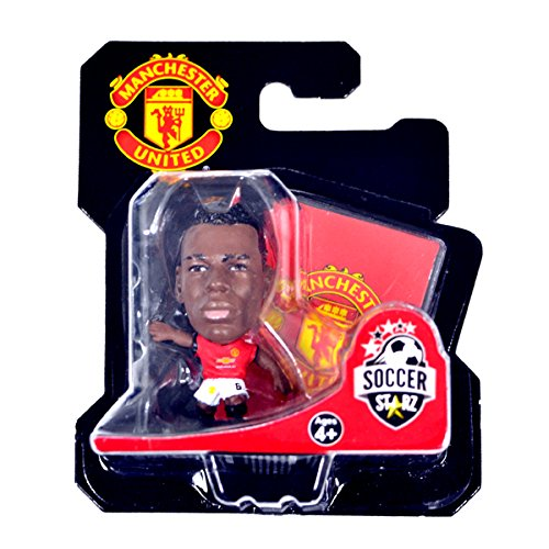 SOCCERSTARZ SOC1121 – Man Utd Paul Pogba Home Kit (2018 Version)/cifre