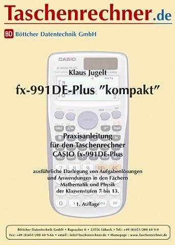Fachbuch zum leichten Einstieg für den Casio FX-991 DE