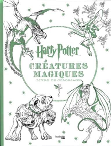 Harry Potter Créatures magiques: Livre de coloriage par Collectif