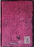 Notizbuch/Tagebuch: First Class Mail, violett metallic, mit Schriftzügen (innen und außen), liniert, Hardcover