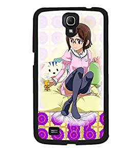 Fuson 2D Printed Girly Designer back case cover for Samsung Galaxy Mega 6.3 I9200 - D4594