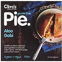 Clive's EMPANADA DE PATATA Y COLIFLOR sin gluten orgánico 235 g (Pack de 6)