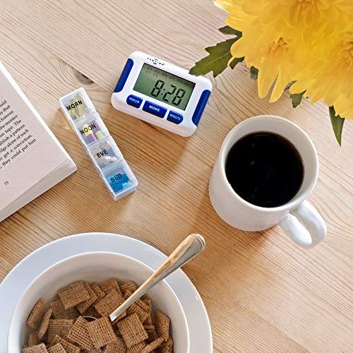 51c899nDE4L - TabTimer, Recordatorio de Píldoras Parkinsons, con hasta 8 alarmas al día, La Ayuda de Medicamentos Esenciales para el Parkinsons.