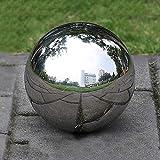 lolly-U Gazing Ball 304 Acero inoxidable Bola hueca Bola de espejo Esfera bola de miras Decoración de adornos de jardín, 1.9cm / 3.8cm / 5.1cm / 8.0cm / 10cm / 12cm / 15cm / 20cm / 30cm
