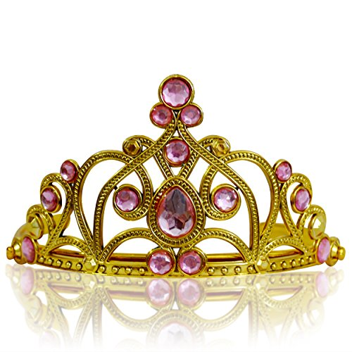 Katara 1682-13 - Mädchen Prinzessin Diadem, gold/hellrosa