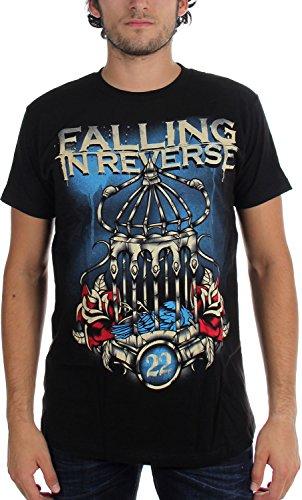 Falling In Reverse -  T-shirt - Uomo nero X-Small
