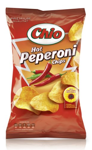 Chio Hot Peperoni, 3er Pack  (3 x 175 g Packung)