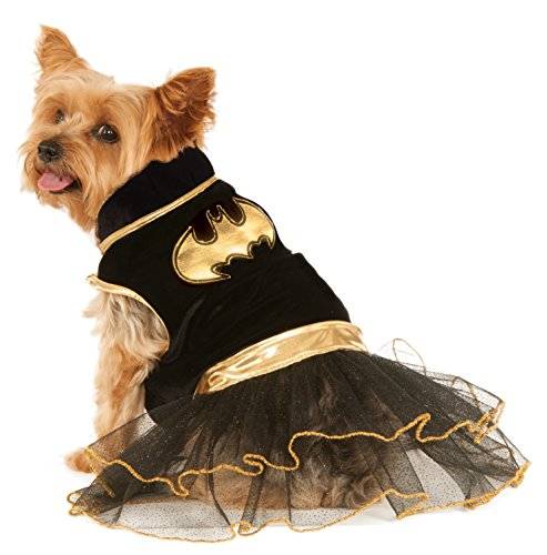 Offizielles/Rubie 's DC Comics/Batgirl Pet Dog Kostüm Tutu Kleid