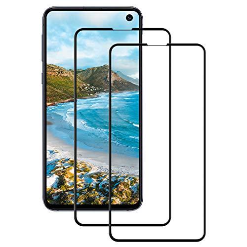 Snnisttek [2 Stück Samsung Galaxy S10e Panzerglas Schutzfolie-Displayschutzfolie für Samsung Galaxy S10e-9H Härte, Ultra Kristallklar-Schutz vor Kratzen, Öl, Bläschen