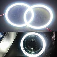 Grandview 2x 90mm ángel ojos Halo anillo lámpara de luz bombilla faro 66smd cob-white