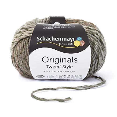 Schachenmayr Tweed Style 9807573-00082 olive tweed Handstrickgarn -