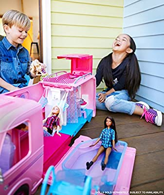 Barbie FBR34 Camper Playset