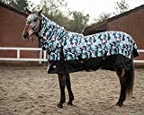 Winter Turnout Horse Rugs 600D 200g Fill Combo Neck Waterproof Camouflage Print Premium Rug (6'9'')