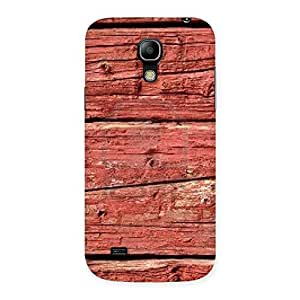 Stylish Pale Red Print Back Case Cover for Galaxy S4 Mini