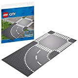 LEGO 60237 City Supplementary Curve and Crossroad Toy Train Tracks for Kids