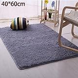 Rosepoem Plüsch Teppich Weich gefüllte Teppich Schlafzimmer Slip Matte Pad Lebender Tisch