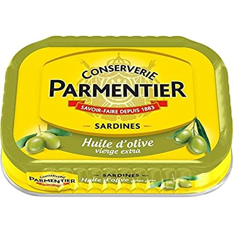 Parmentier sardines huile olive 135 g Prix Unitaire - Envoi
