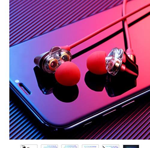 Bluetooth Kopfhörer Bluetooth-Kopfhörer-Drahtloser Kopfhörer Für Telefon- Doppeltreiber- Kopfhörer Mit Mic Sport Earbuds