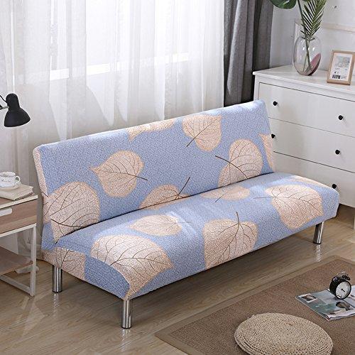 Lovehouse surefit fodera per divano letto,copertura di elasticità coperchio poliestere stampato antimacchia fodera per divano copridivano copertine protettore per 2,3,4 seduta divano salotto-h 55-59in