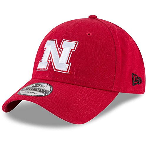 Campus Classic Adjustable Hat - Red , One Size (Nebraska Hat)
