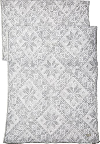 Dale of Norway Damen Rose Scarf Light Charcoal