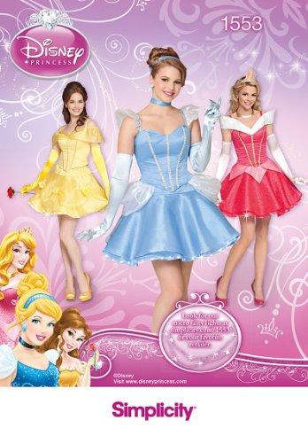 Home Disney Made Kostüm - Simplicity us1553hh Größe HH Schnittmuster Disney Princess Kostüm
