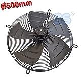 Ventilatore assiale premente ø 500 mm 420 w 220 v - con motore e griglia